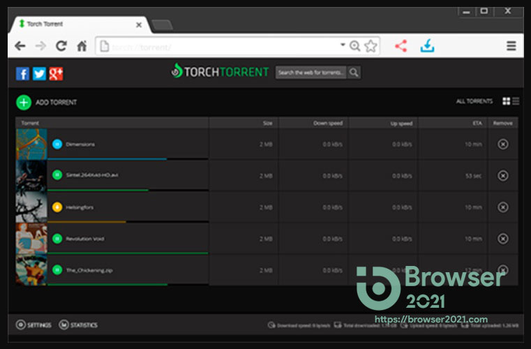 Download Torch Browser 2021 For Windows 10, 8, 7