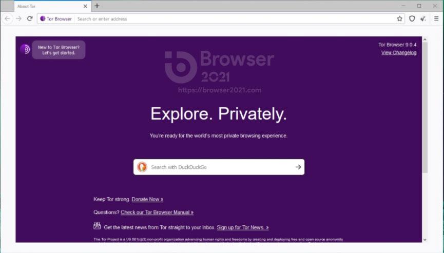 Download Tor Browser 2021 for Windows 10, 8, 7