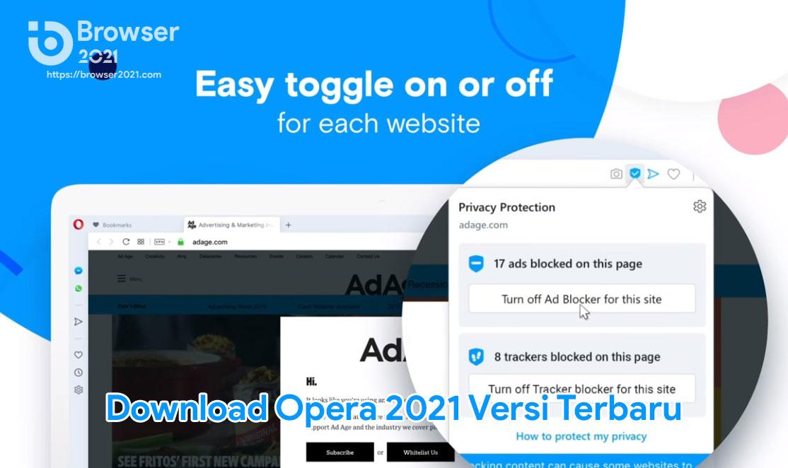 Download Opera 2021 Versi Terbaru